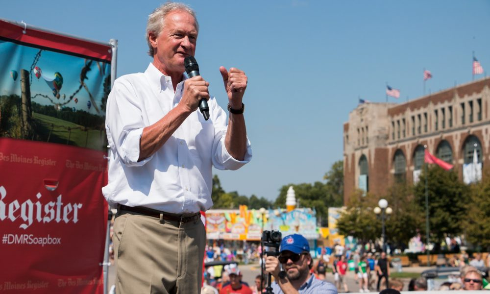 Presidential Candidate Lincoln Chafee Backs Decriminalizing Drugs | Marijuana Moment