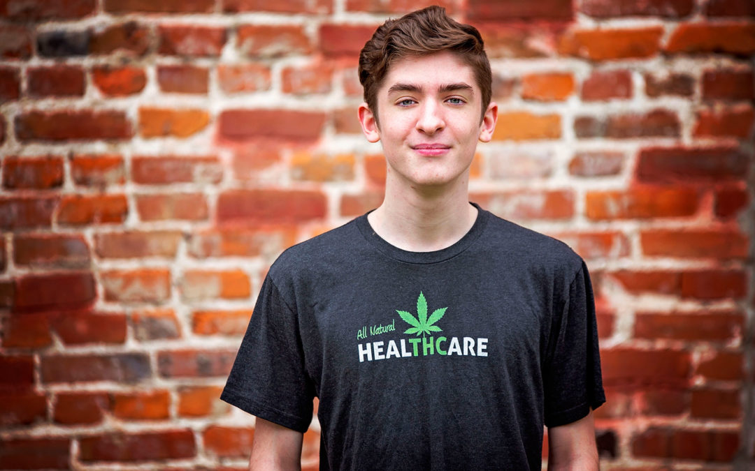 What it's like to be a kid who medicates with cannabis