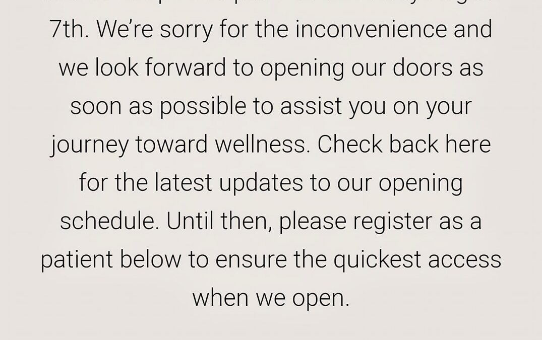 So. The fourth Utah dispensary was supposed to open this Friday, but it didn&#03…